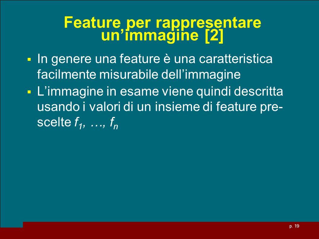 Feature per rappresentare un'immagine [2]